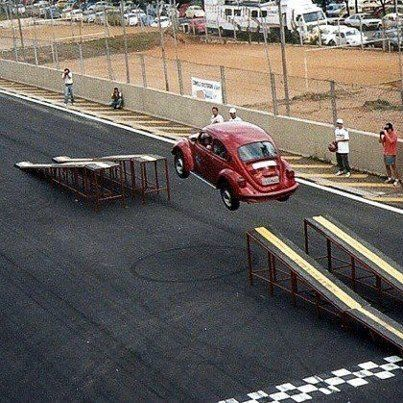 Jump VW Beetle Ramp