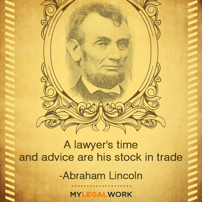A Lawyer S Time And Advice Are His Stock In Trade Abraham