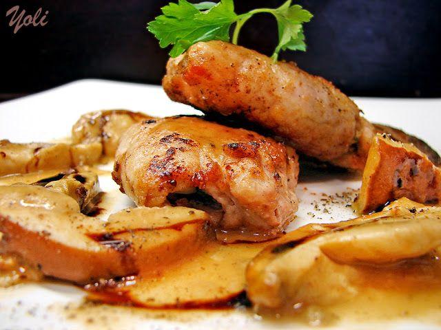 Вкусно с Йоли: Свинско филе с орехи и пармезан