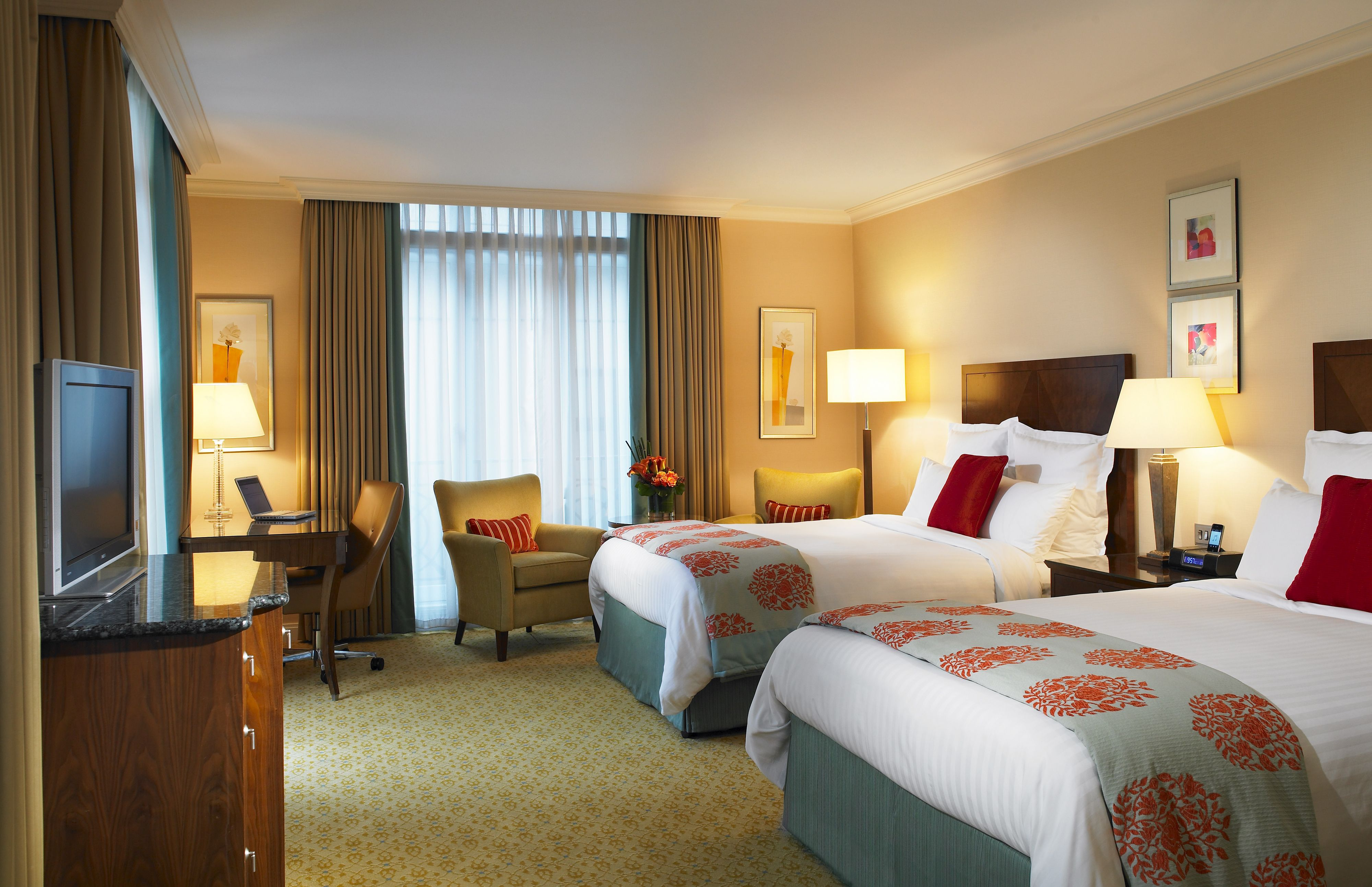 Our Spacious Rooms Include A Custom Writing Desk And Modern