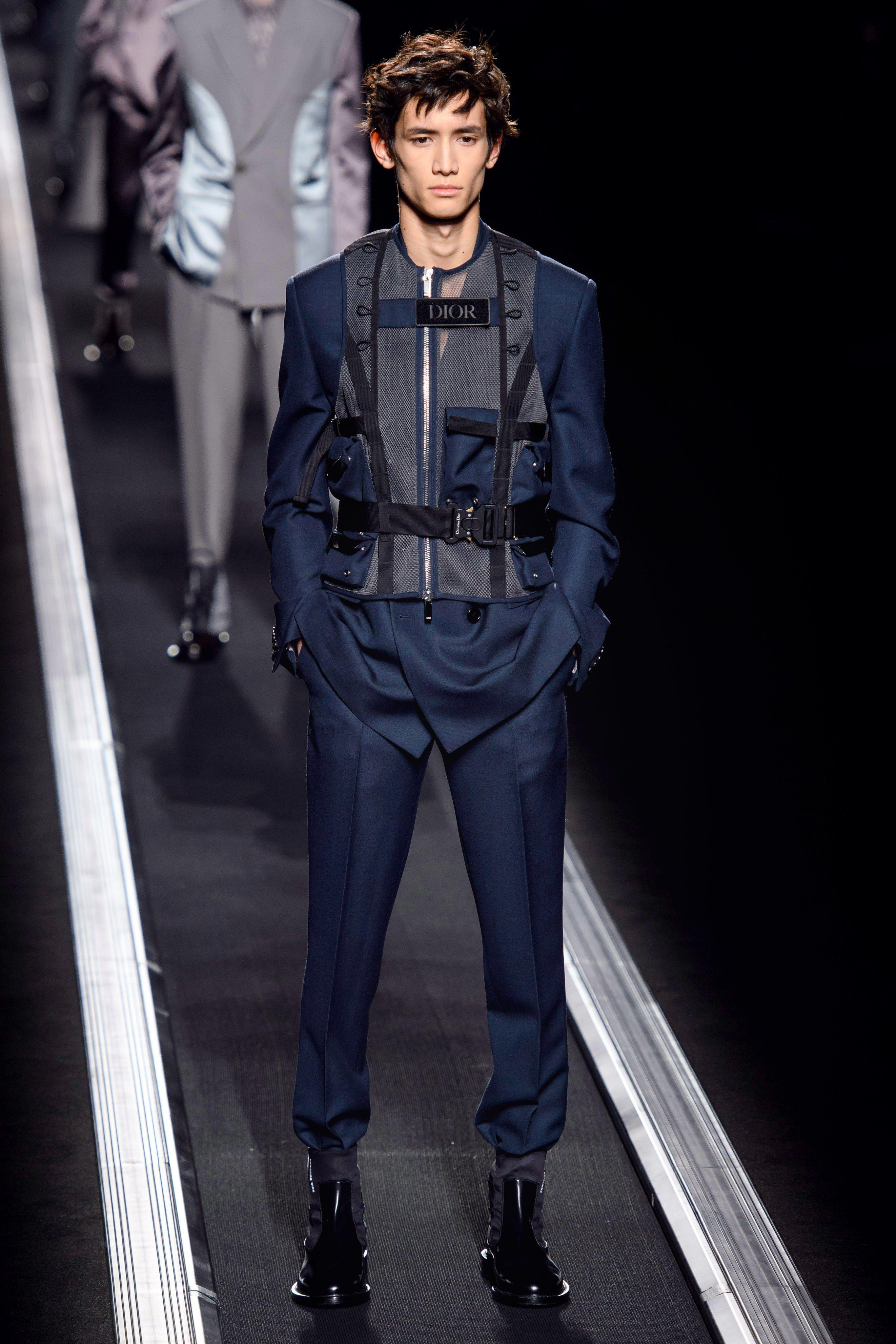 b017263a287 Dior Men Fall 2019 Menswear Fashion Show in 2019