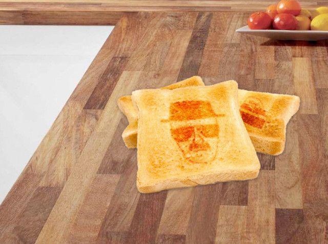 you're toast, heisenberg!