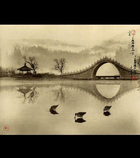 Et si ces peintures traditionnelles chinoises étaient des photos ?                                                                                                                                                     Plus