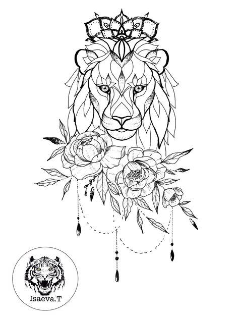 Tattoo mandala lion products 37+ best Ideas