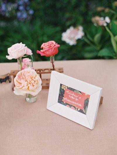 Pretty details: http://www.stylemepretty.com/2015/03/06/santa-barbara-backyard-garden-wedding/ | Photography: Lane Dittoe - http://lanedittoe.com/