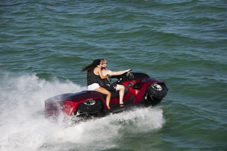Sherp Atv For Sale >> Gibbs Quadski XL four-wheel jetski adds a second seat - SlashGear   Recreation vehicles ...