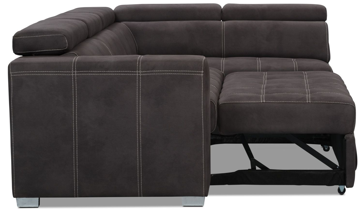 Faux Suede Sectional Sofa Outstanding Faux Suede Sectional Sofa 64 In Mart With Thesofa