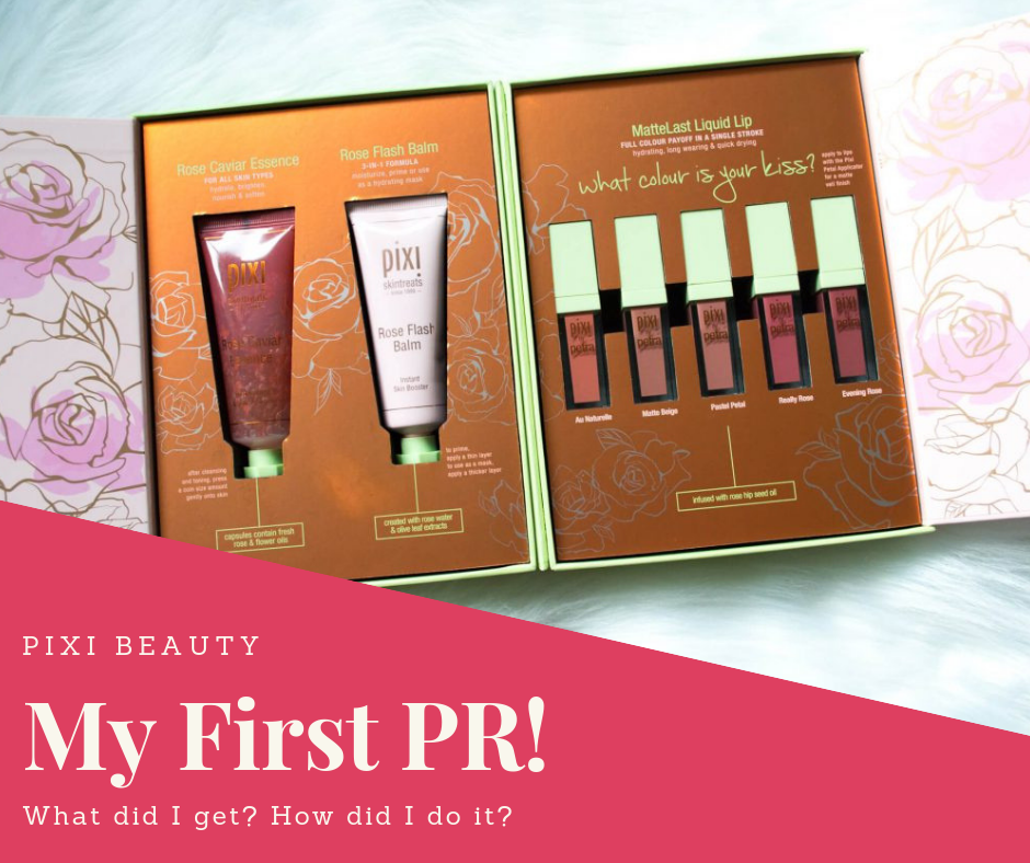 My First PR Package Pixi beauty, Pixie, Beauty