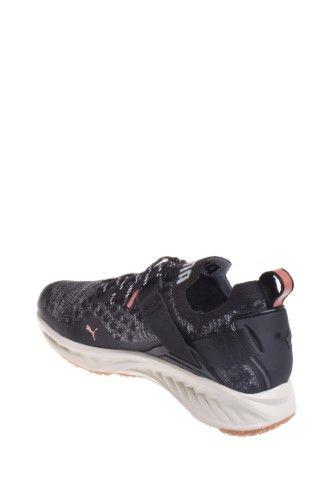 8c97fca27f Puma Ignite EvoKnit Lo Velvet Rope Lo Vr Sneaker - Black Quarry, Women's,  Size: 6
