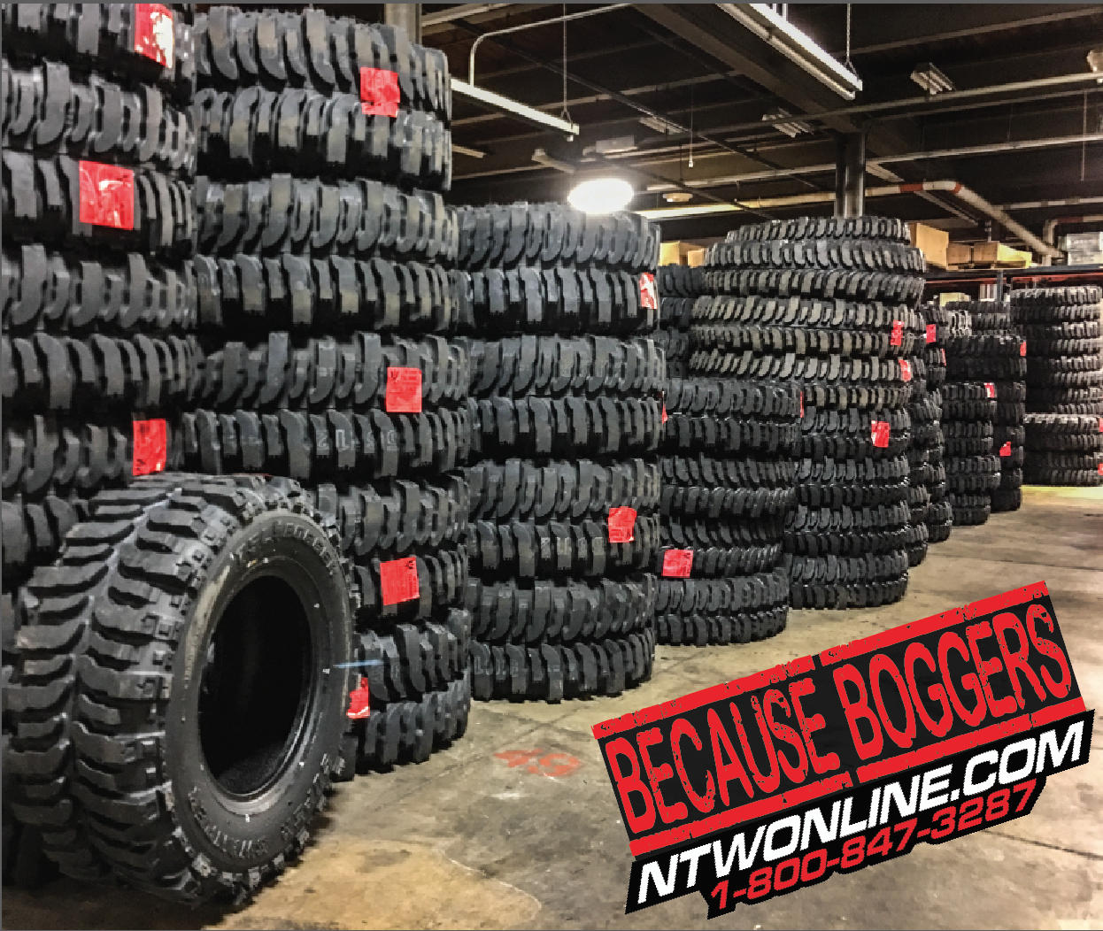 What can you say about the Interco Super Swamper Bogger other than it is the nastiest, baddest, off-road tire ever built that is still DOT approved and 100% street legal. Want to go farther and deeper? The Bogger is for you! The nylon, bias-ply tire is right at home in mud up to your doors or climbing boulders larger than your truck. Don't expect much mileage out of them, but they do give a pretty decent ride on the highway for as aggressive as they are.