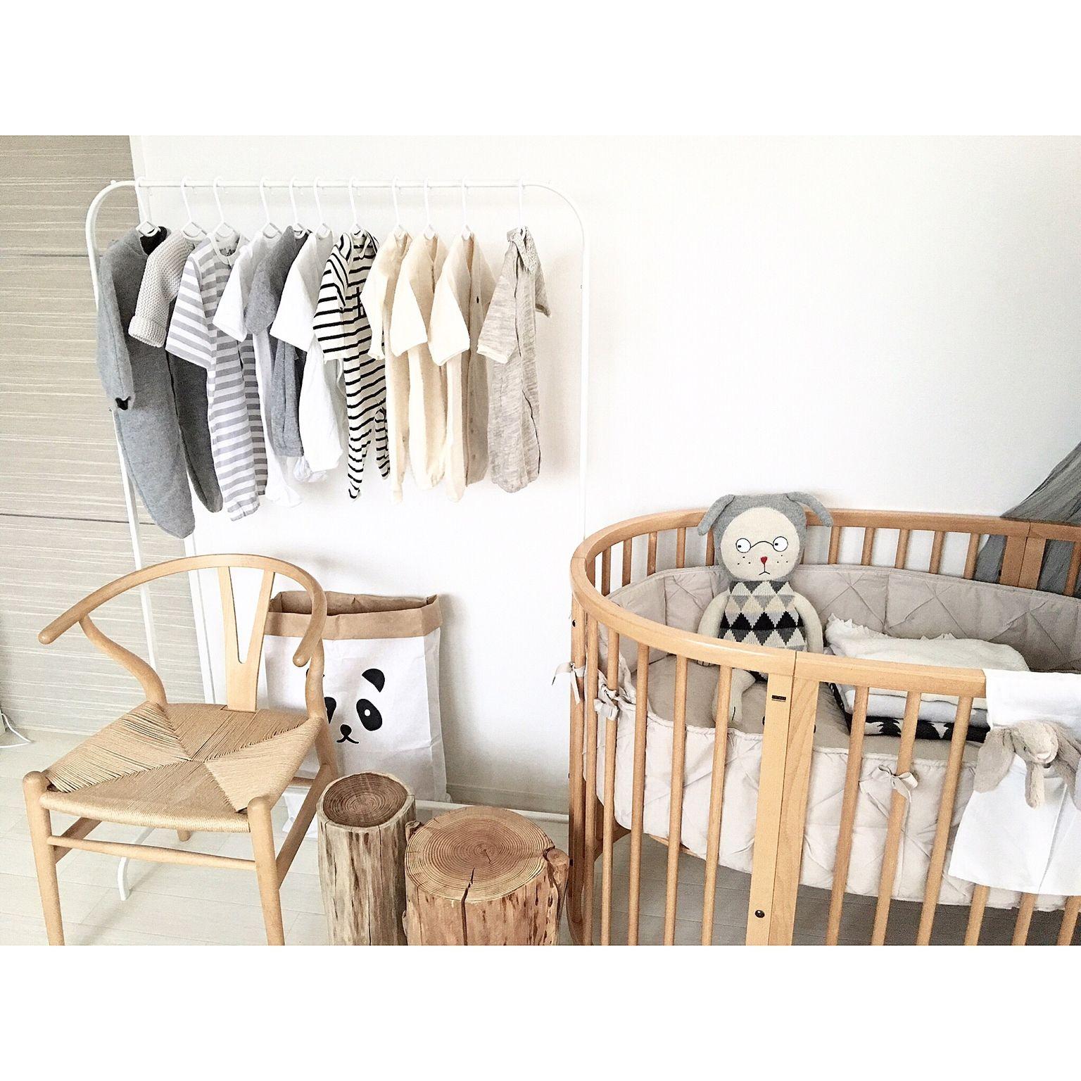 狭い部屋でも赤ちゃんスペースは作れる 可愛い19の実例集 ベビー