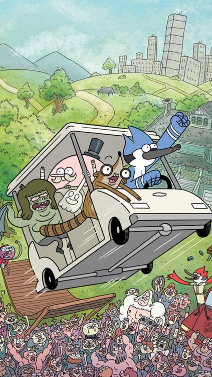 Regular Show Wallpaper Man