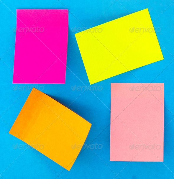 sticky notes ad, advertising, announcement, background, banner - blank paper background