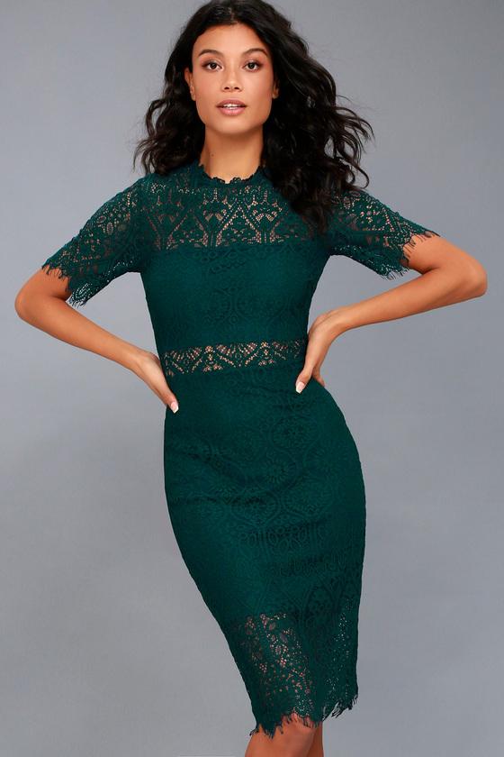 22++ Green lace dress ideas