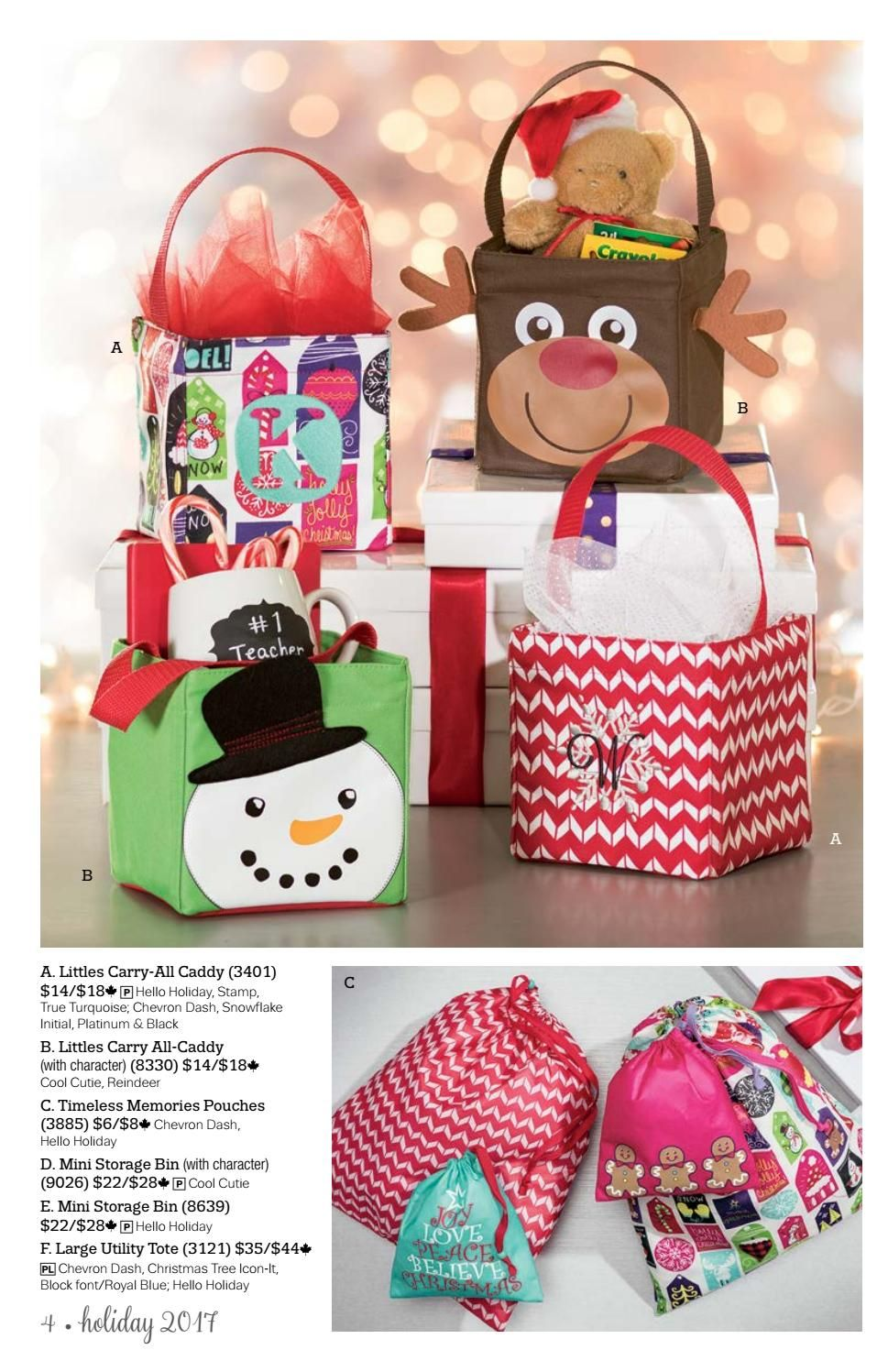 Thirty One Holiday 2017 Gift Guide   Holidays 2017, Gift ...