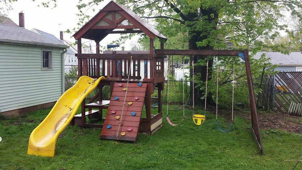 Rainbow Sunray Playset Reassembled In Avenel Nj New Playsets