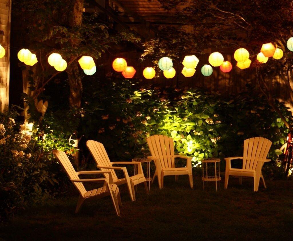 27 Pretty Backyard Lighting Ideas For Your Home Backyard Lighting Outdoor Patio Lights Outdoor Lighting Design