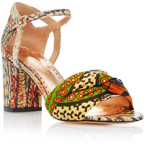 cheap sale classic outlet reliable Jean-Michel Cazabat Printed \Ankle-Strap Sandals 100% guaranteed sale online BZGsQ02H5