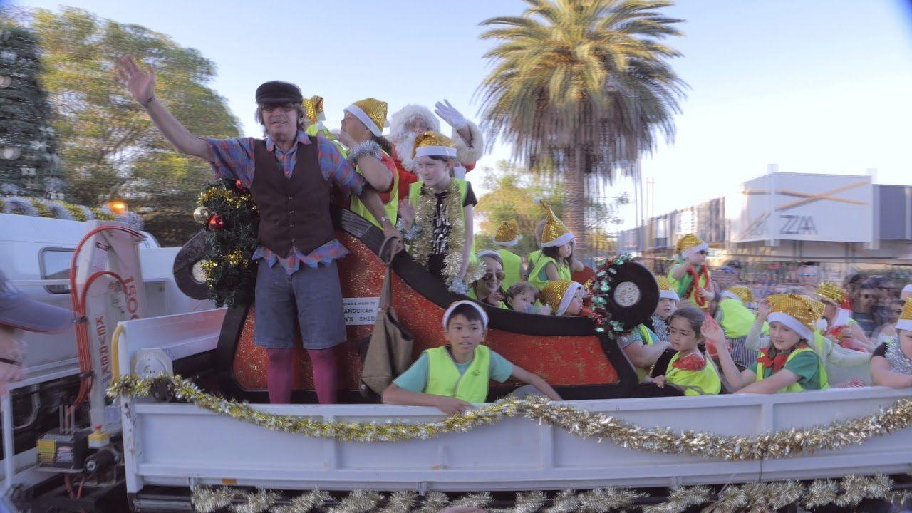 Mandurah Christmas Pageant Street Parade Western Australia 2016 Christmas Pageant Western Australia Pageant