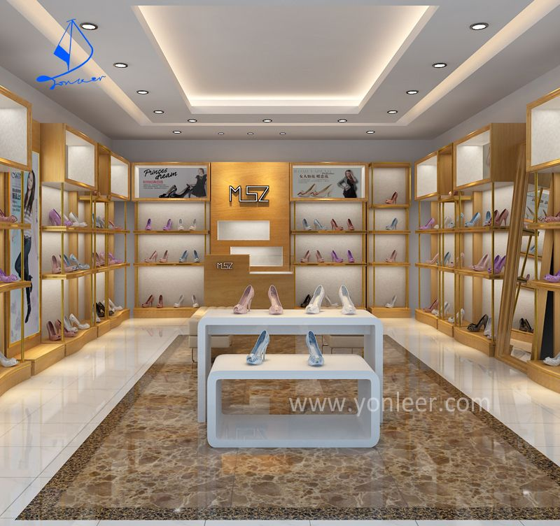 Optical retail shop interior design shoes shop interior for Retail store interior design