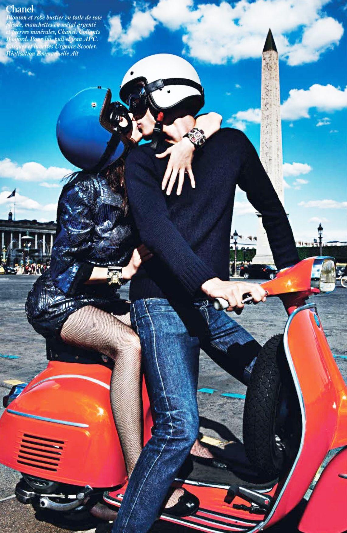 Love x Vespa x Paris