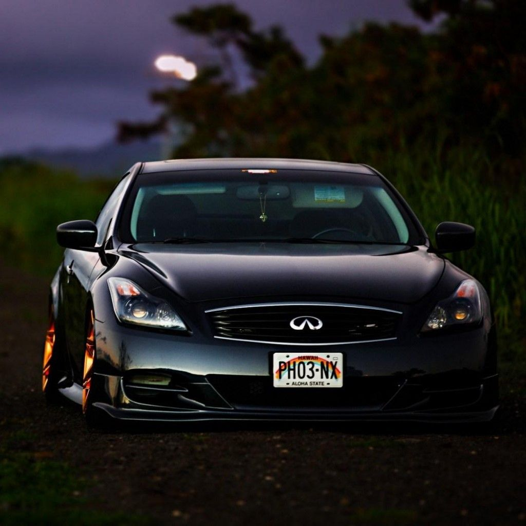 Superb Infiniti G35 Car Tuning #iPad #Wallpaper