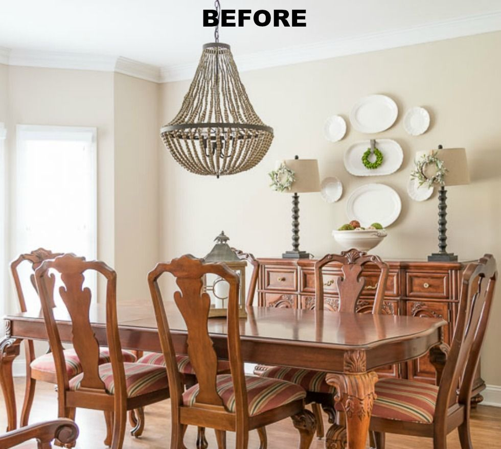 Dining Room Makeover Pleasing Dining Room Makeover  The Fastest And Easiest Planked Wall In The Decorating Design