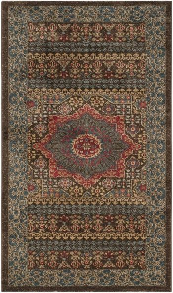 Safavieh Mahal Navy And Red 3 X 5 Area Rug Rugs Area Rugs
