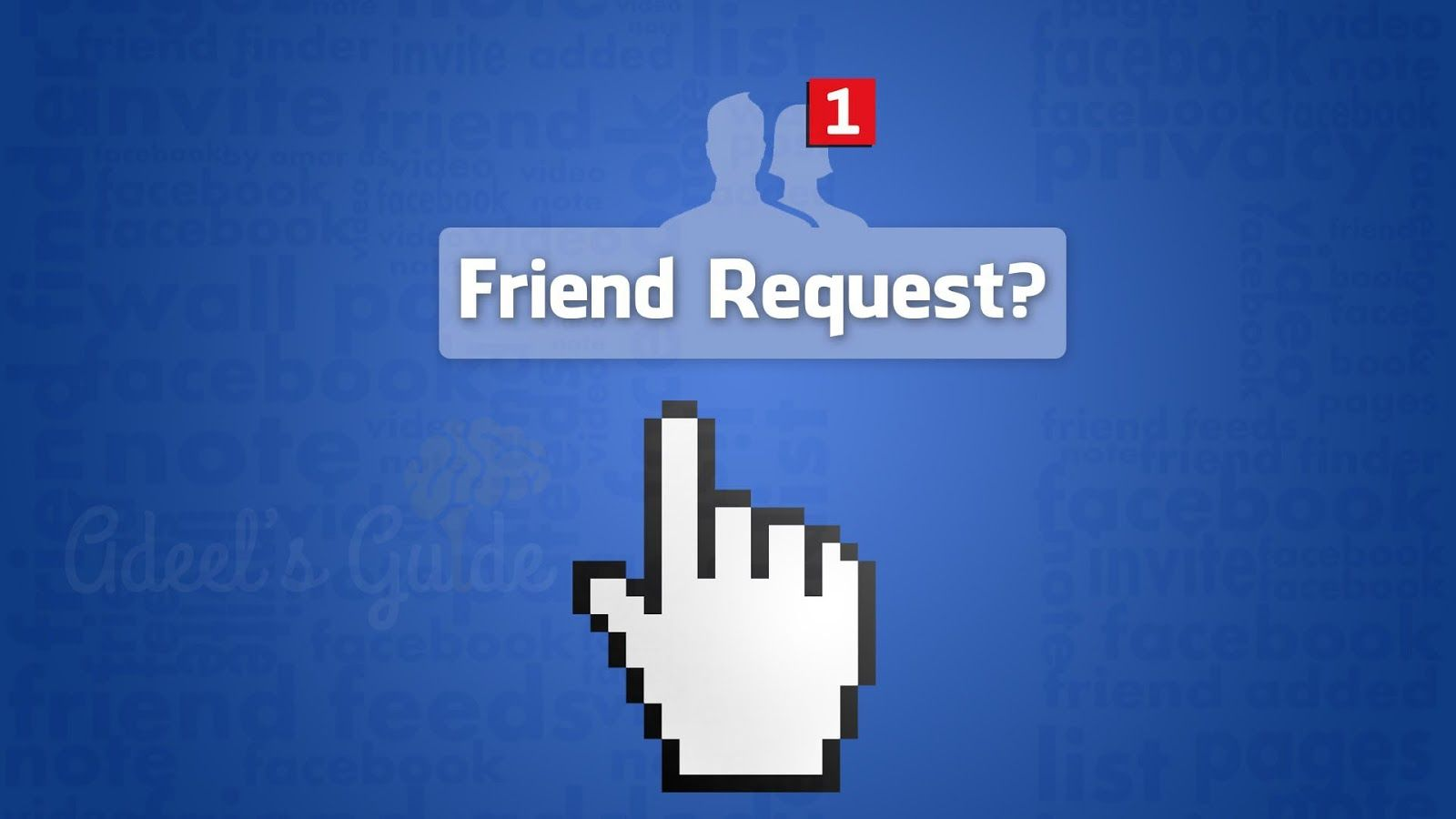 With one click you accept all the way to accept all friend requests