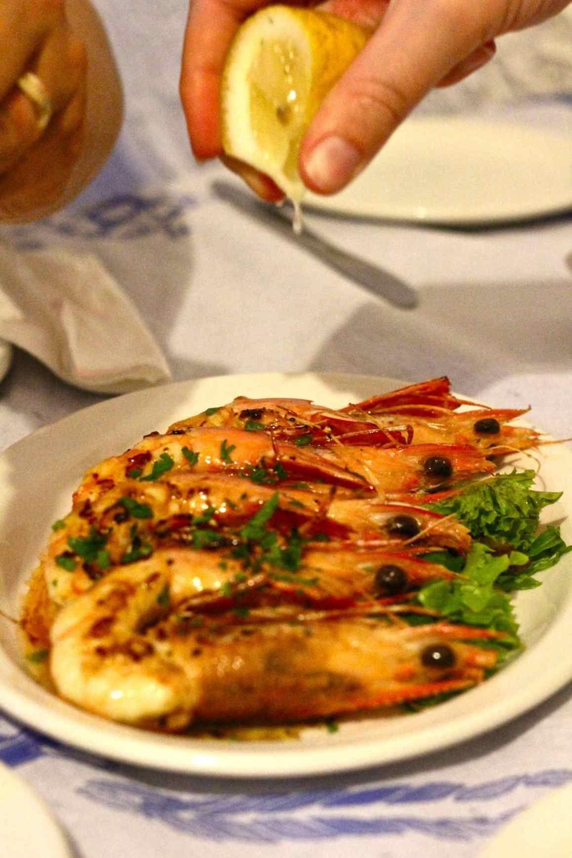 Faros Restaurant Menu