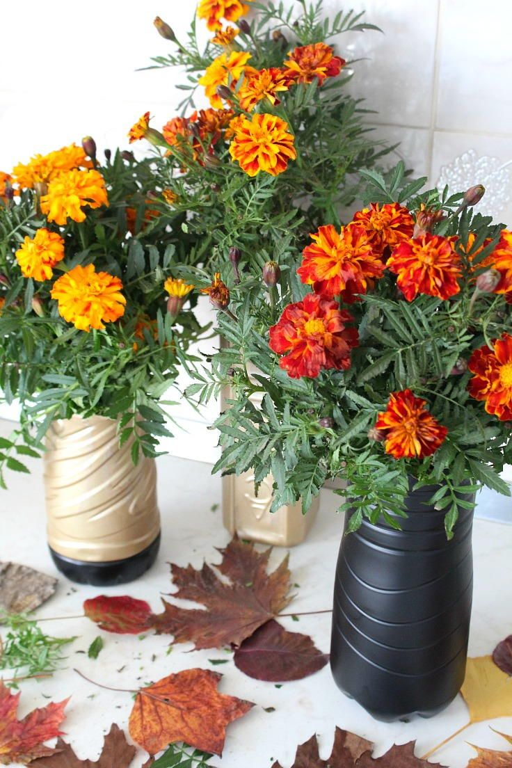 Secretly Cheap Diy Flower Vase Upcycle Pinterest Diy Flower
