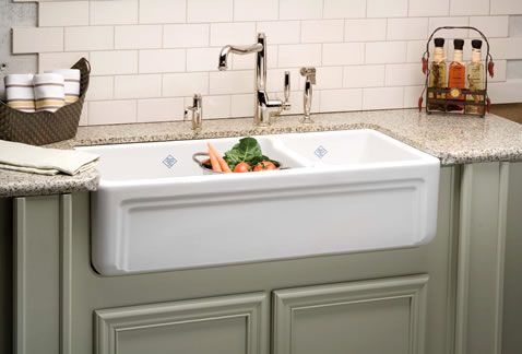 Shaws Original Fireclay Sink Farmhouse Sink Kitchen Rustic