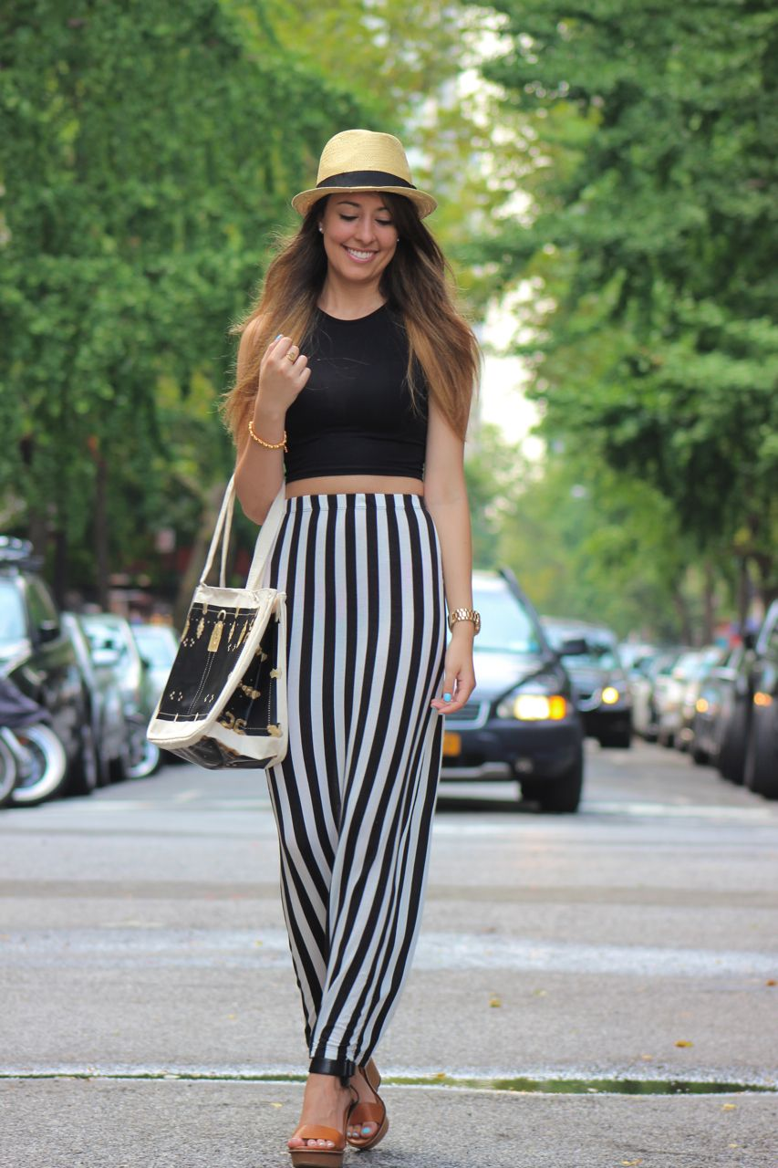 High waisted maxi skirt and crop top tumblr – New skirt this ...