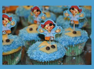 muffins f r den kindergeburtstag piraten lecker und selbstgemacht kindergeburtstag. Black Bedroom Furniture Sets. Home Design Ideas