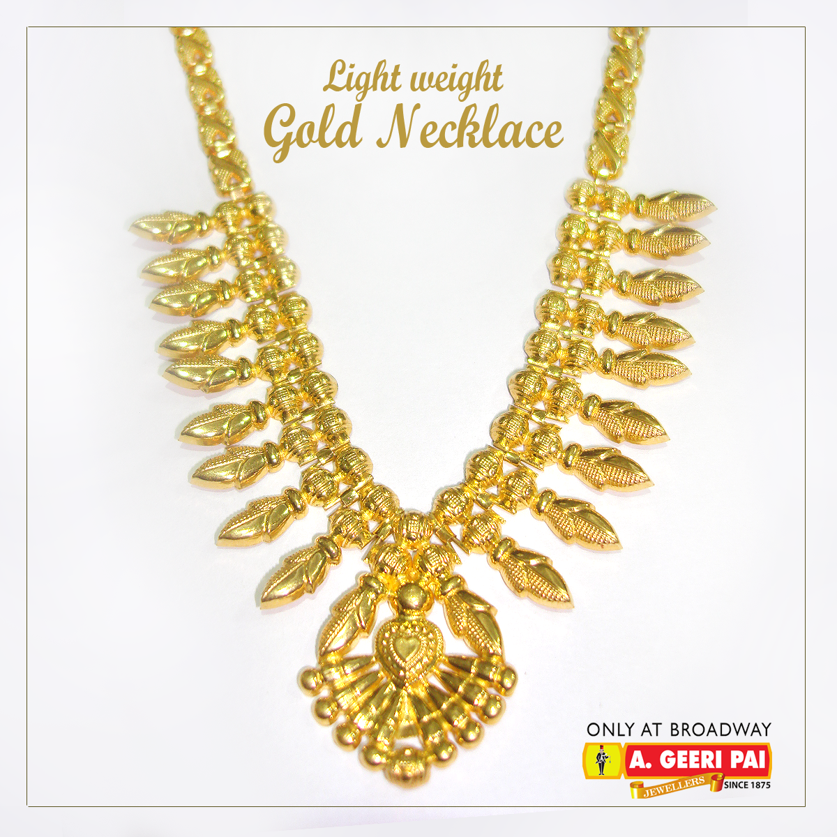 weight necklace the designs jewellery light of gallery in price with gold kolkata