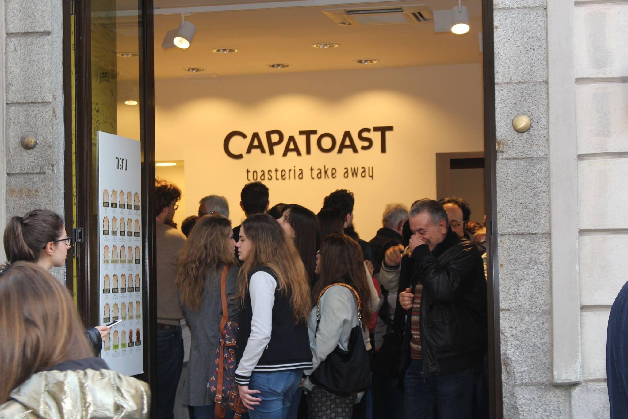 CAPATOAST la prima Toasteria Take Away in Italia
