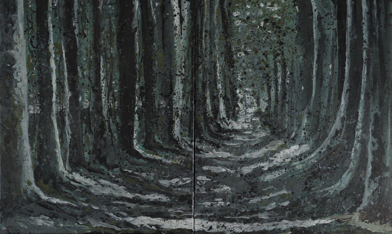 Untitled - Acrylic on Canvas 92X55 cm. de JoanBPedrola en Etsy