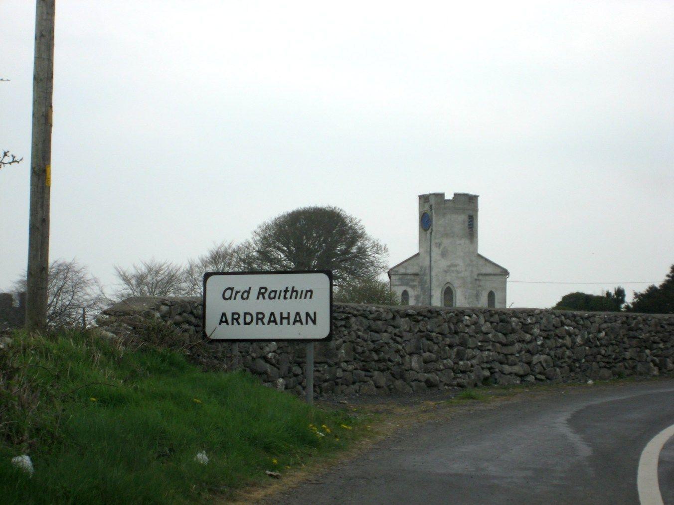 Ardrahan Church, County Galway, Ireland