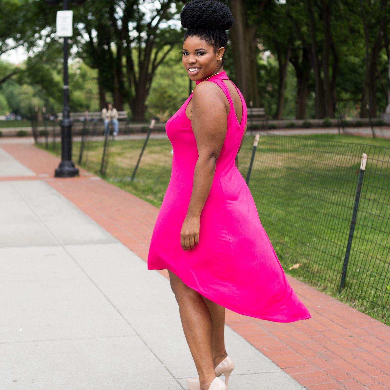 Mira Mock Neck Dress $36.90 | #FTFSelfie | Pinterest