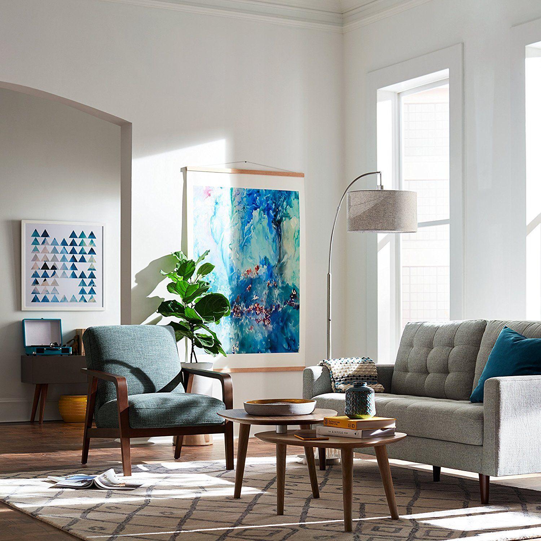 Amazon Prime Day Home Decor Mid Century Modern Living Room ...