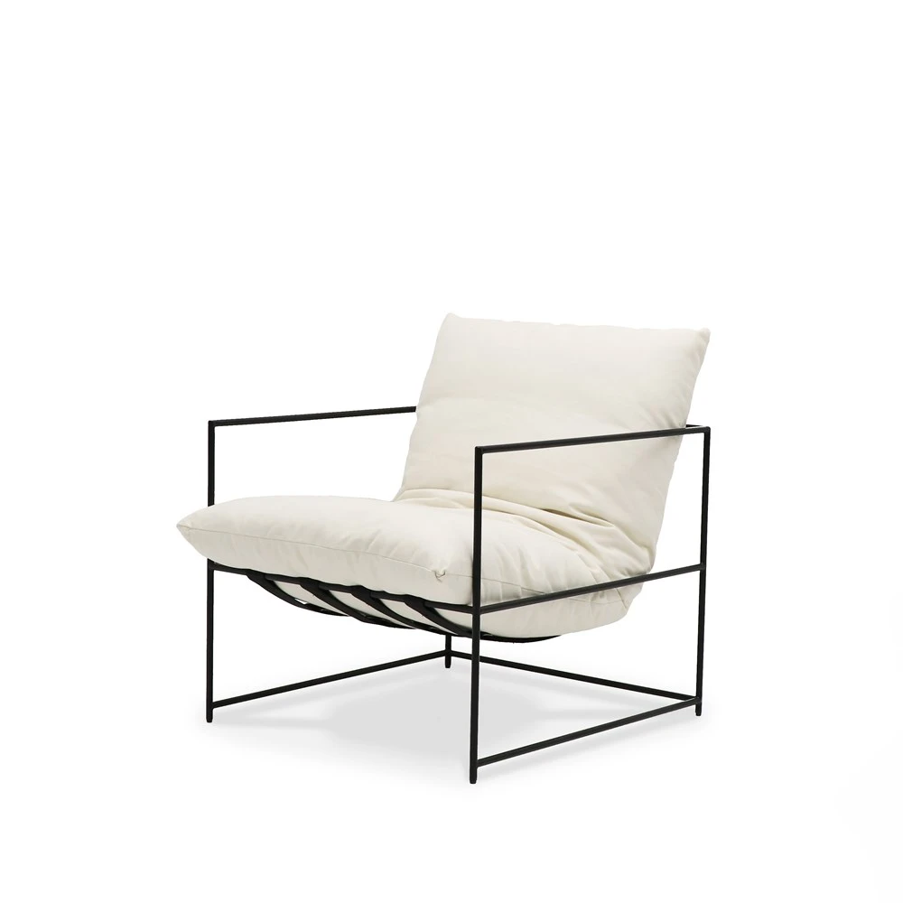 Laurel Armchair white in 2020 Armchair, Leather