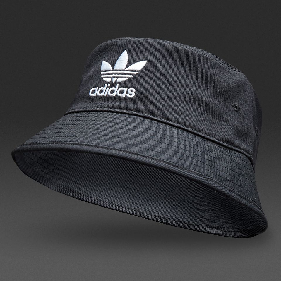 adidas Originals Bucket Hat AC - Black   White  2e561aef0905