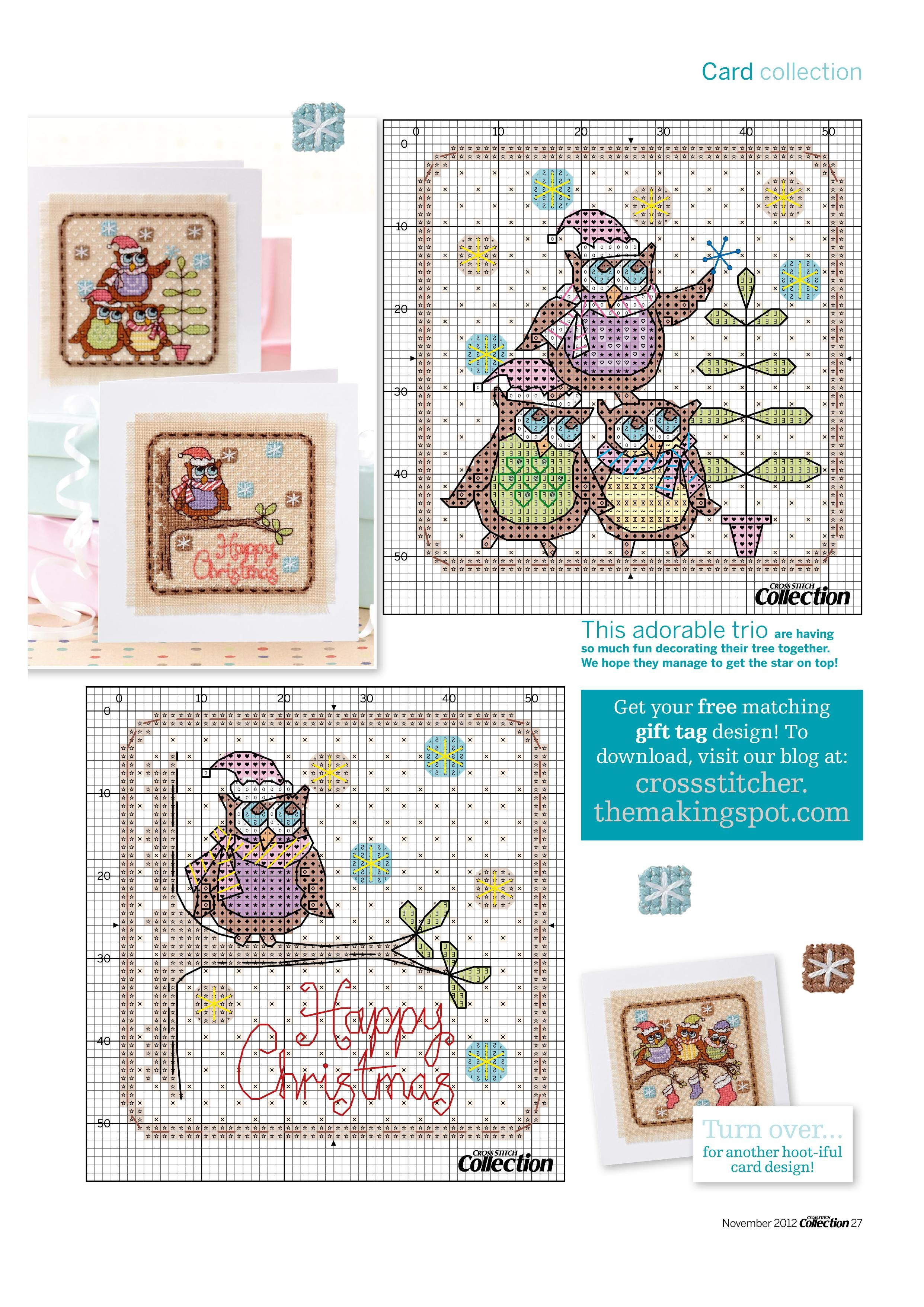 Christmas Owls 3/3