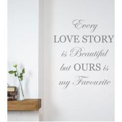 Wandtattoo Every Love Story is BeautifulWayfair.de    Source link #BeautifulWayfairde #love #Story #Wandtattoo