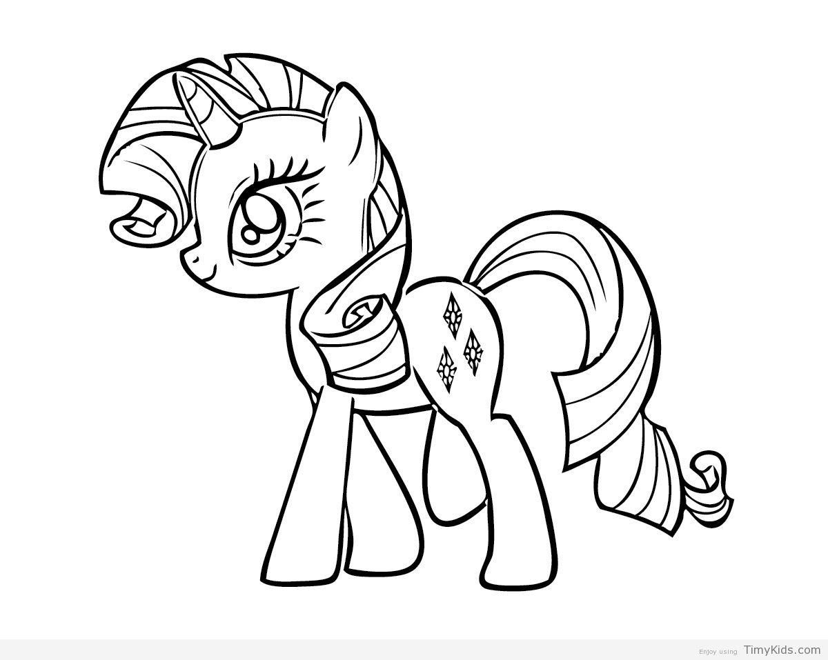 Ausmalbilder Kostenlos Drucken My Little Pony : Pin Von Julia Auf Colorings Pinterest