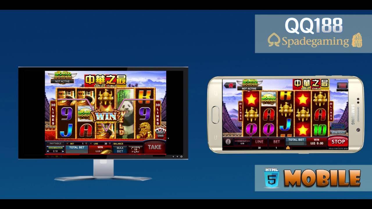 Spade Gaming Great China Slot Mesin Jackpot Qq188 Html5 Mesin