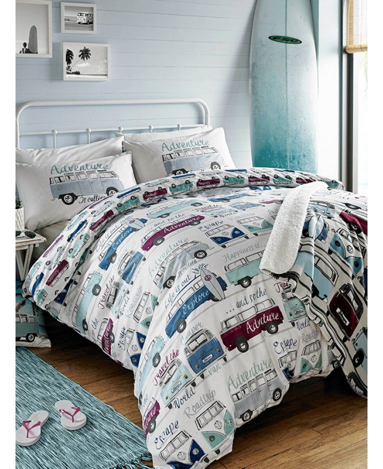 This Official Volkswagen Surf S Up Duvet Cover Set Is Perfect For