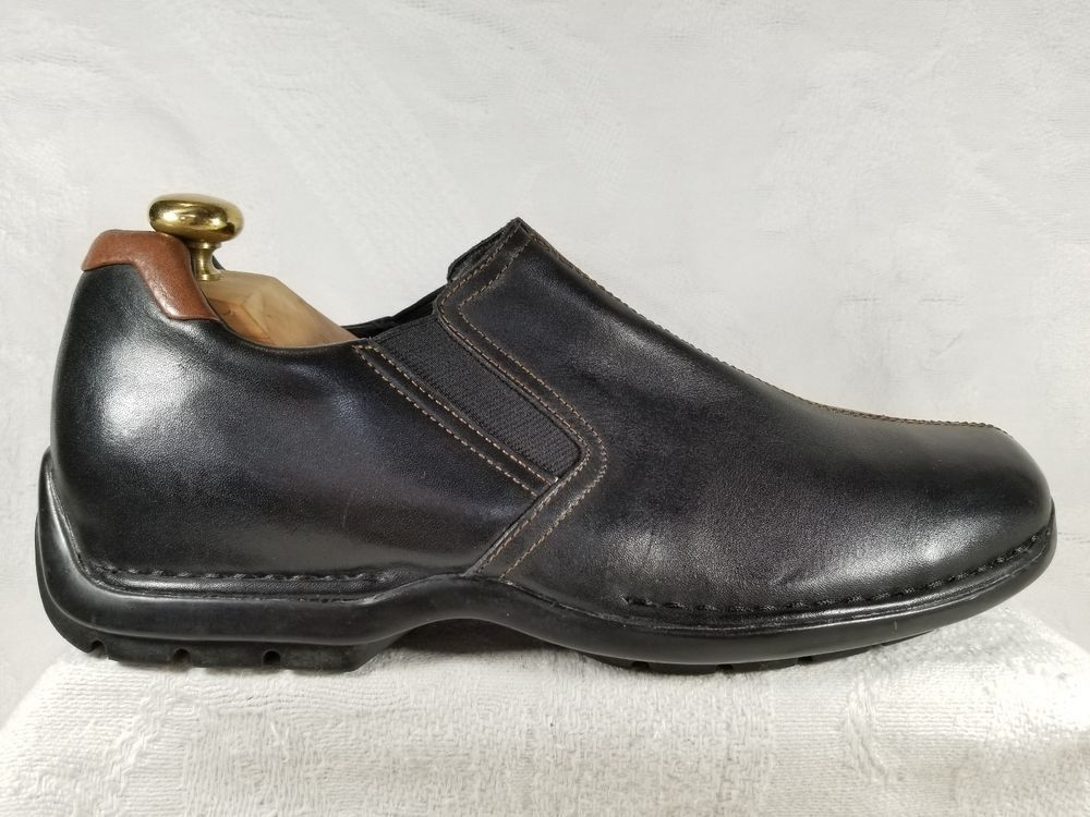 14a73499b2d Cole Haan Zeno Slip On Black Leather Loafer Casual Men s Shoe Size 10 M