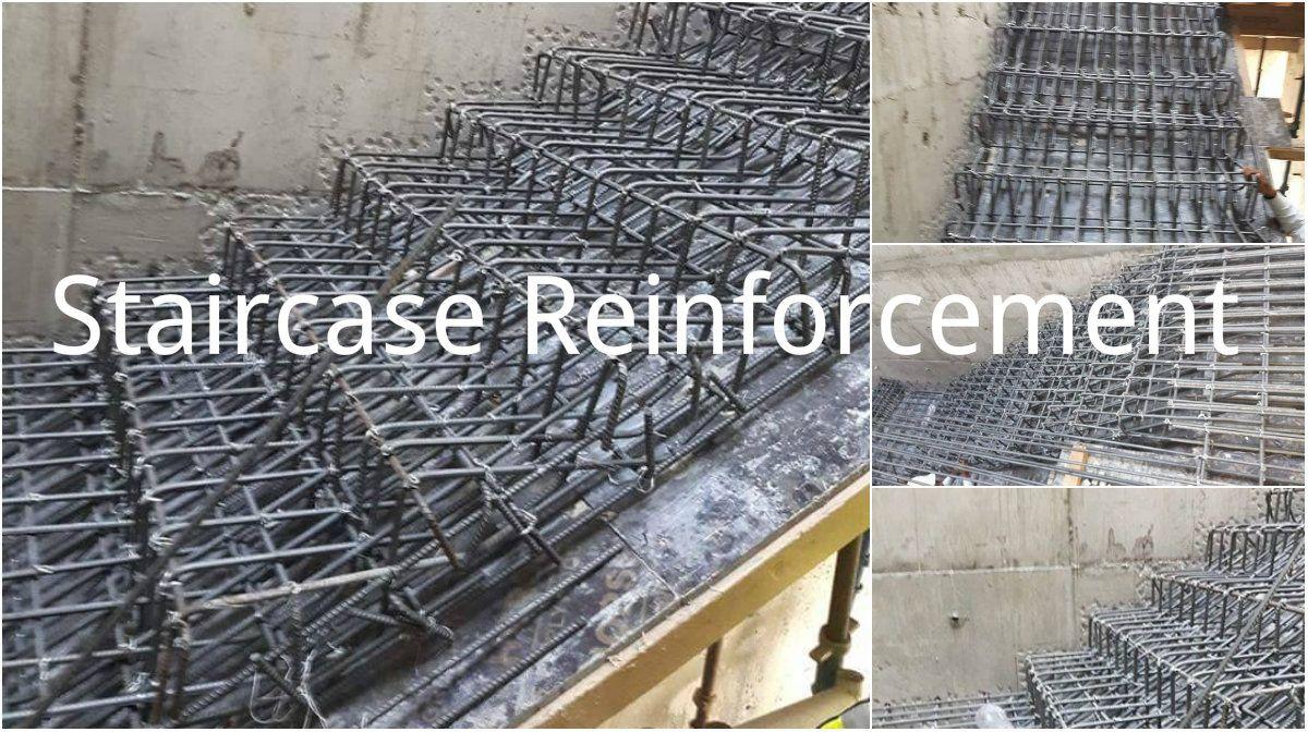 Staircase Reinforcement Installation Process