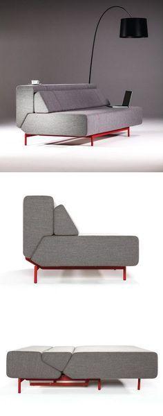 PIL LOW Sofa Bed By Prostoria By Kvadra